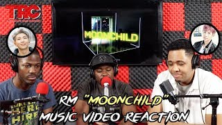 "RM ""Moonchild"" Lyric Mp3 Reaction"