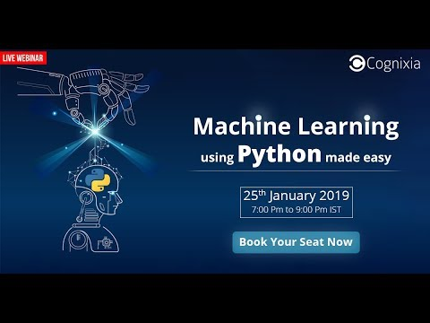 Machine Learning with Python Webinar | Cognixia