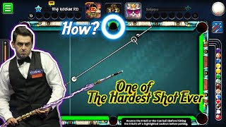 OMG 👽 - One Of The Hardest Shot Ever 😨 - 8 Ball Pool Miniclip - اصعب حركة في تاريخ 8BP 🎩💣- 1080p