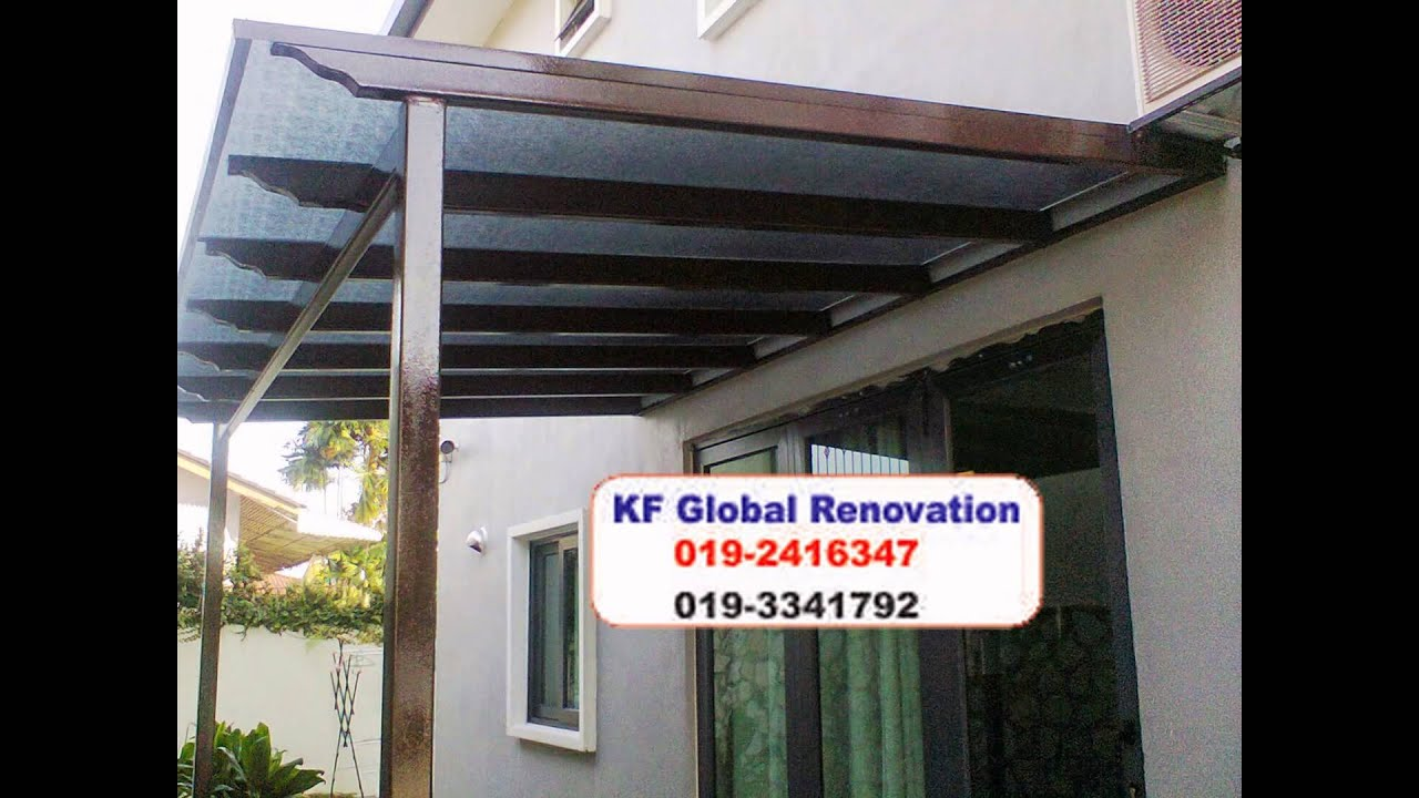 High Quality Awning Services In Gombak 016 6927308   YouTube