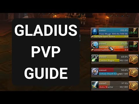 WoW Gladius Guide PvP Setup - Fix Gladius To Track Every Spell!