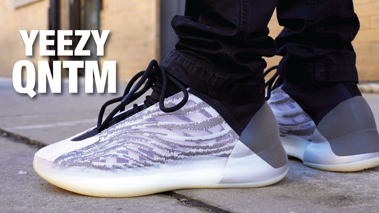 Adidas Yeezy Qntm Quantum Basketball Review On Feet Youtube