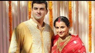 Exclusive footage: vidya balan-siddharth roy kapoor wedding