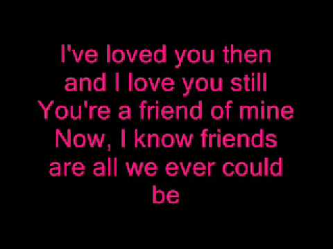 Friend Of Mine - MYMP - Lyrics