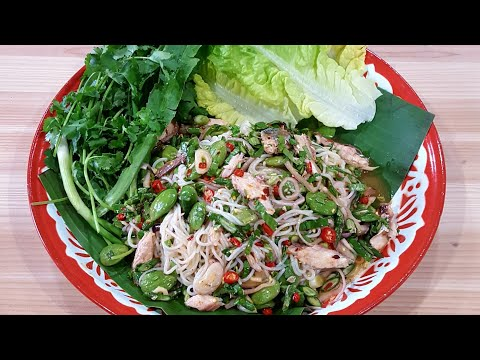 How To: Yum Khaopoon | Vermicelli noodle salad