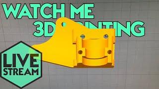 Watch Me 3D Printing | Creality E3D Noctua Print Head | Live Stream