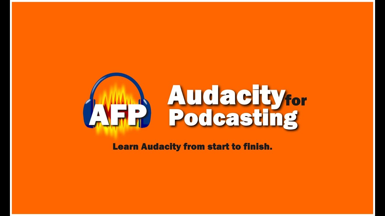 Podcast using Audacity (free software) and Learn to Use it Like a PRO to edit your show