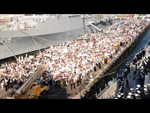 USS Wisconsin Sailor Stories: QM2 Nitka