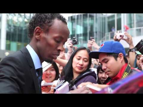 Download Youtube: Eye In The Sky: Barkhad Abdi TIFF 2015 Movie Premiere Gala Arrival