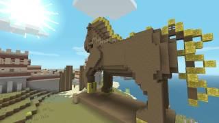 Minecraft | Greek Mythology Mash-Up Pack Trailer | PS4, PS3, PS Vita