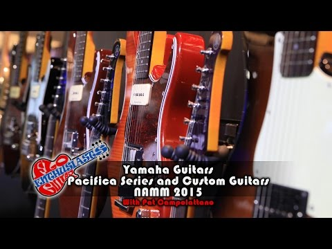 NAMM 2015: Yamaha Pacifica Guitars and Custom Shop Guitars