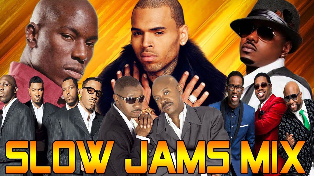 SLOW JAMS MIX 90S 2000S -TreySongz, Mary J Blige, R  Kelly, Usher, Jodeci,Tyrese, and more