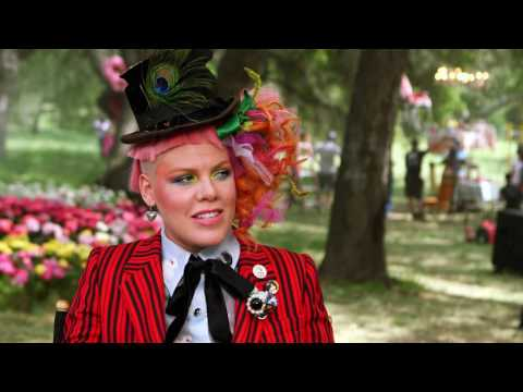 Alice Through The Looking Glass PINK Interview