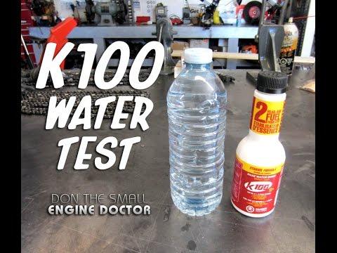 K100 Water Test!