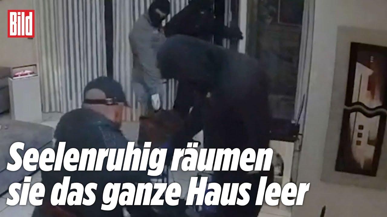 Download Einbrecher hält Opfer Pistole an den Kopf (Überwachungsvideo)
