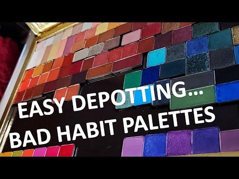 EASY DEPOTTING!!  Bad Habit Palettes thumbnail