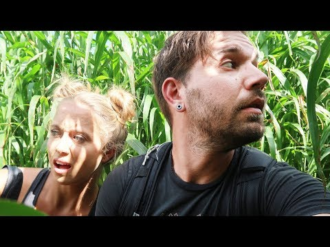 WE GOT LOST IN A CORN MAZE!