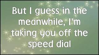 Mitchel Musso -  Speed Dial + Lyrics & Download