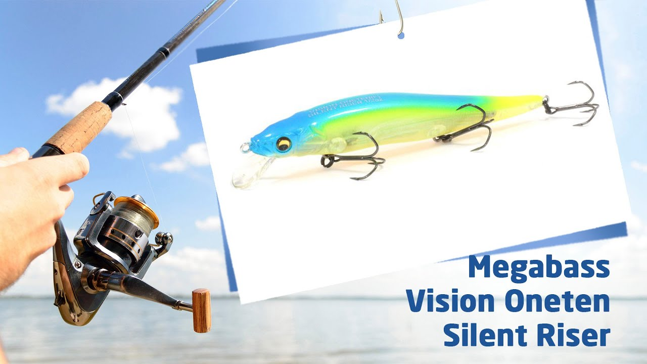 Копия Megabass Vision Oneten 110 с Aliexpress - YouTube