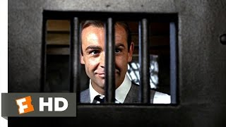 Goldfinger (7/9) Movie CLIP - Creative Escape (1964) HD