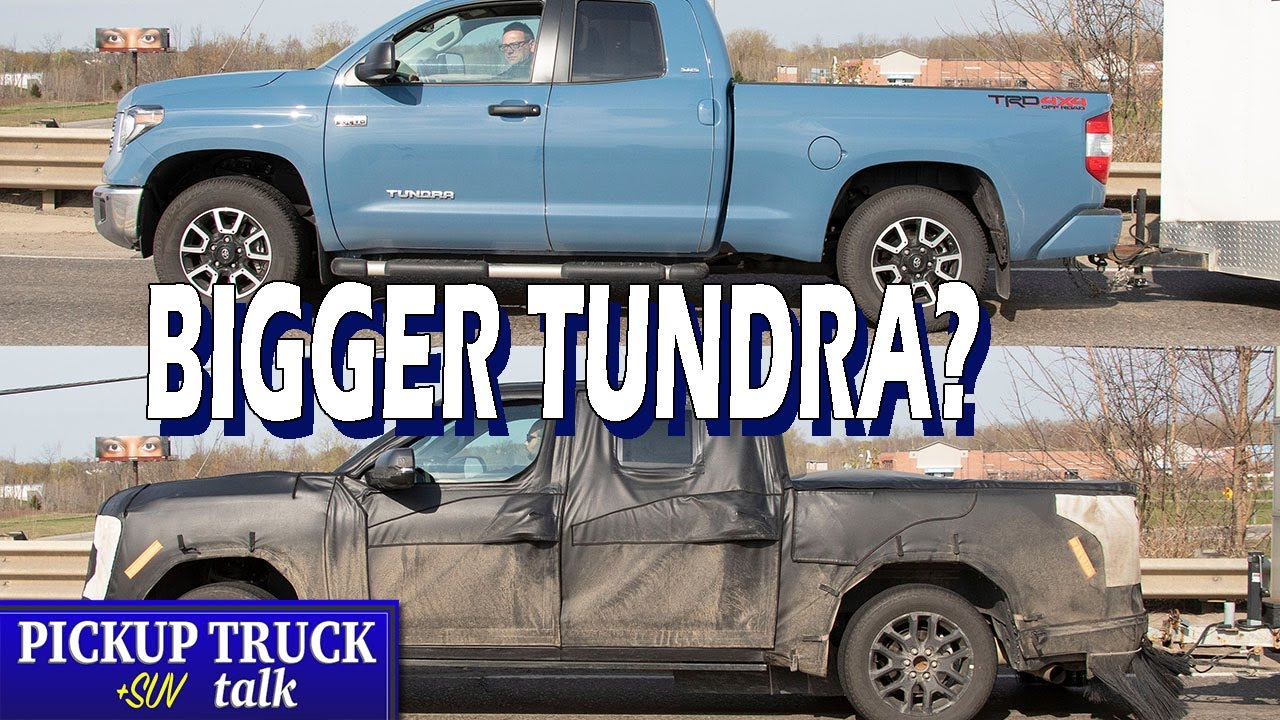 New 2022 Toyota Tundra Size Comparison Plus Timing for Unveil
