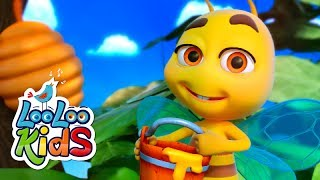 Meine Kleine Biene - DIE BESTEN Songs für Kinder | Kinder LooLoo
