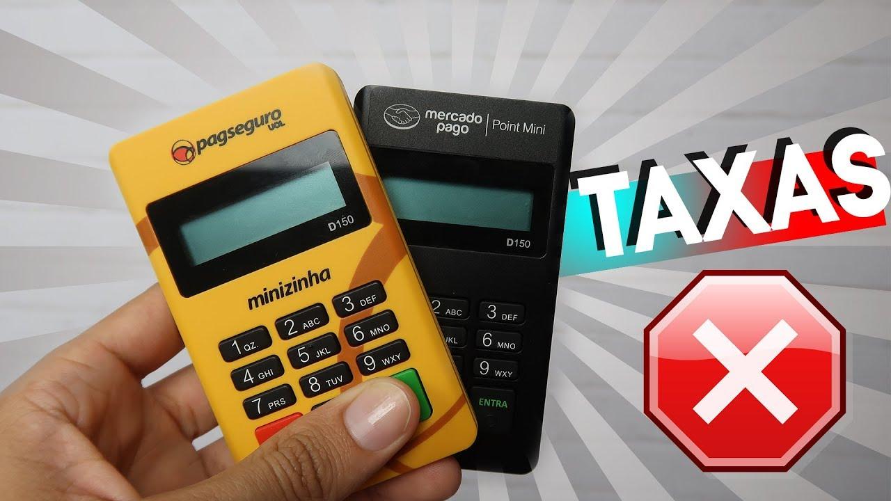 50fd76b7c Qual Maquininha de Cartão tem a Menor Taxa Mercado Pago Vs Pagseguro ...