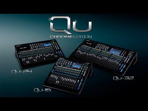 Allen & Heath Qu Chrome Edition