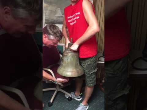 WWII US NAVY Maritime Ship Bell USS President Hayes