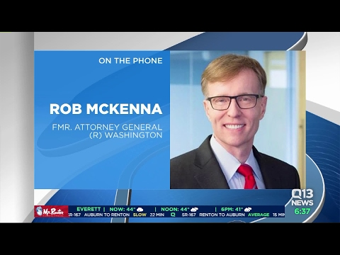 Former Washington AG Rob McKenna on court