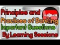 JAIIB Live Session Principles and practices of banking Important Questions Part 2 in Hindi 🔥🔥🔥🔥
