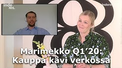 Marimekko Q1'20: Kauppa kävi verkossa