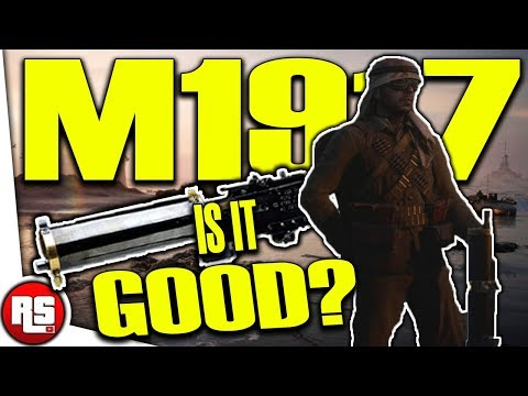 BROWNING M1917 lmg: IS IT any GOOD? New turning tides dlc gun, (bf1 new weapons) - battlefield 1