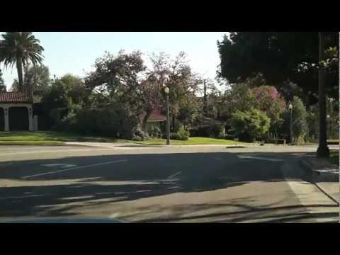 Pasadena to Los Angeles via CA-110 S freeway, 2012-09-23