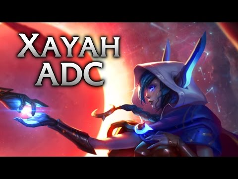 Repeat Cosmic Dusk Xayah ADC - League of Legends with Pikachu! by