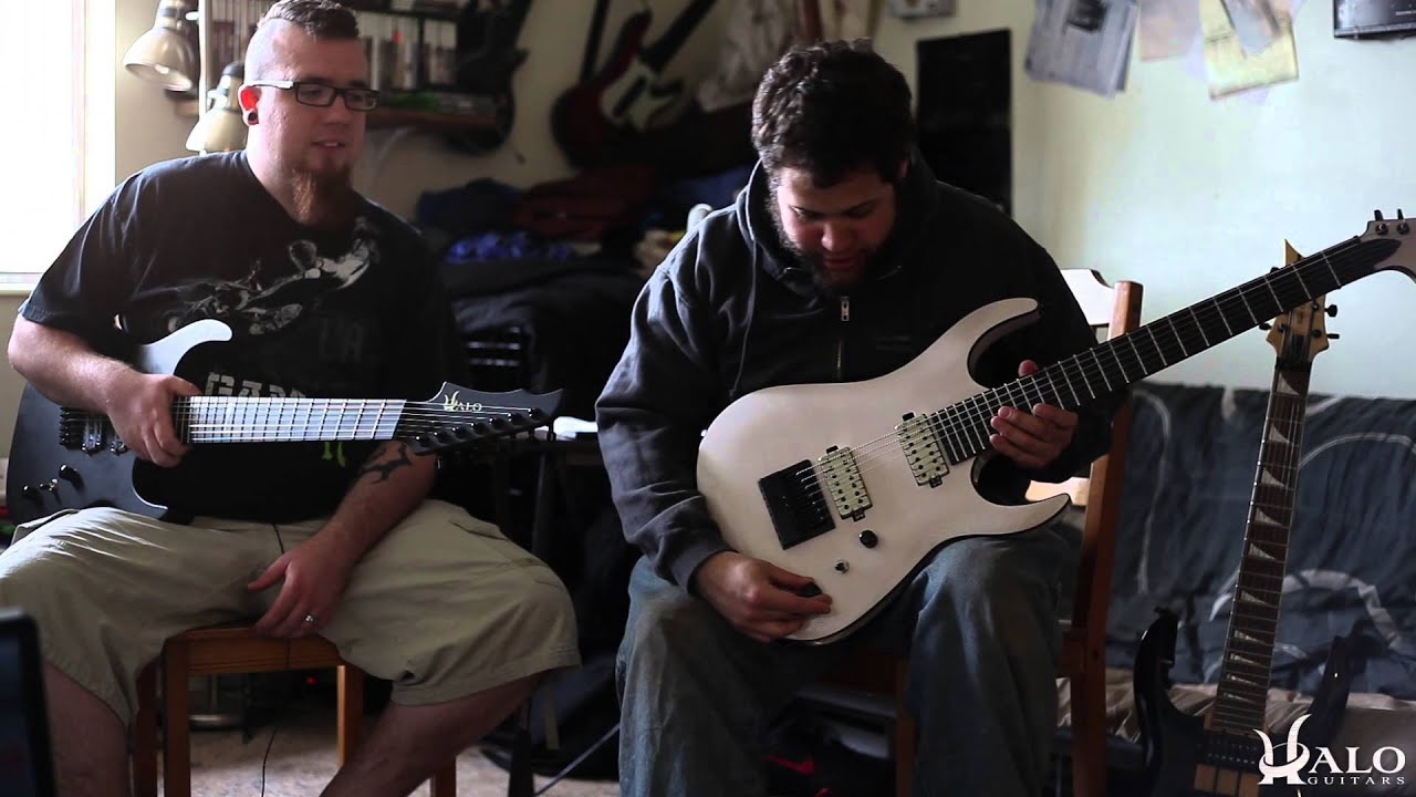 halo custom guitars overview guitar playthrough youtube. Black Bedroom Furniture Sets. Home Design Ideas