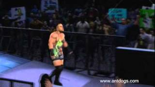 Rob Van Dam TNA Theme Entrance(SmackDown Vs RAW 2011)