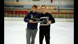Фристайл на олдскульных коньках (Oldschool Ice Skates Freestyle)