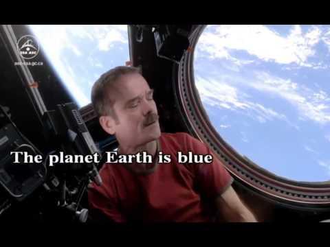 Chris Hadfield space oddity KARAOKE