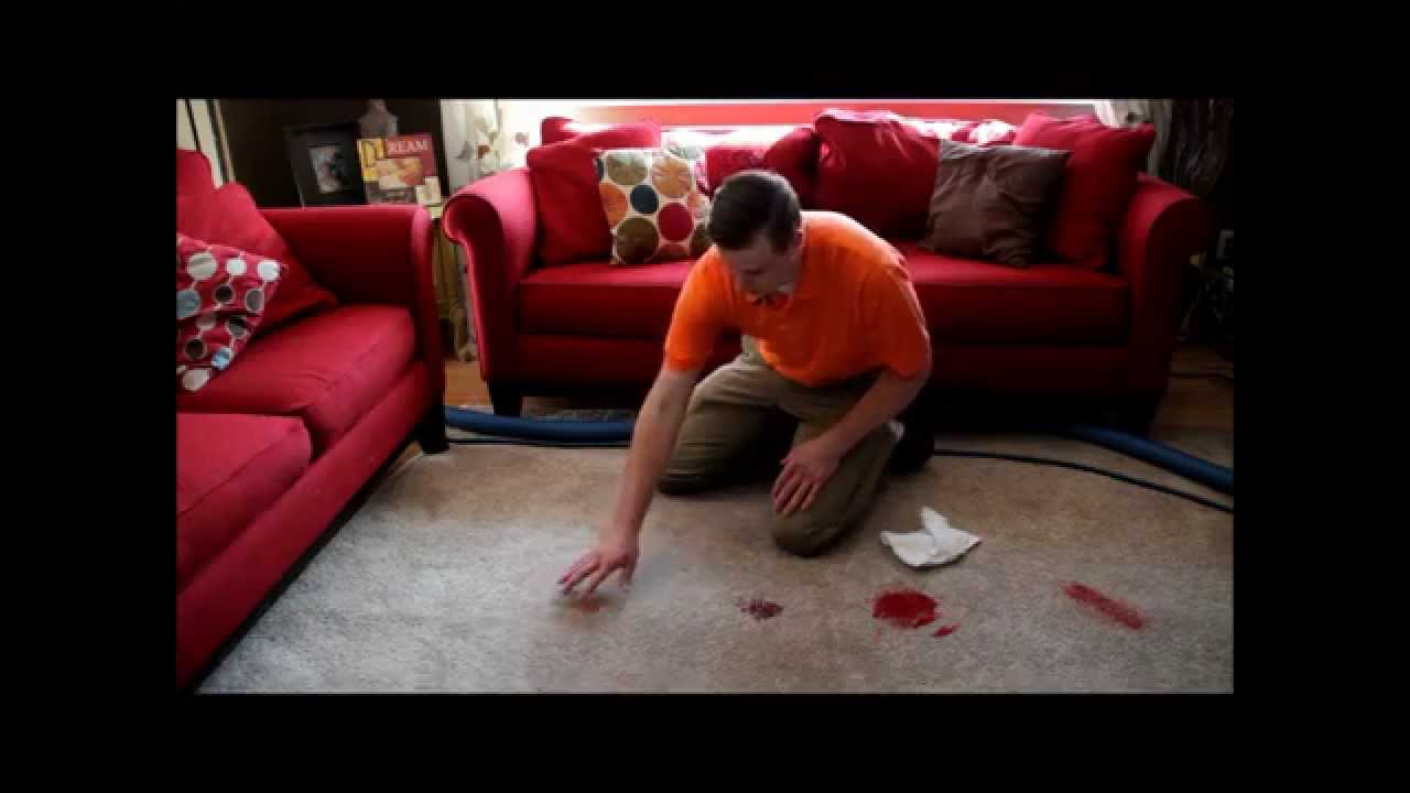 How to get gum out of carpet - YouTube