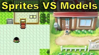 Pokemon Sprites VS 3D Models | @GatorEXP
