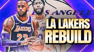 I Traded For...Him...LA Lakers Rebuild | NBA 2K20