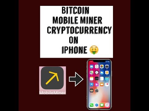 IOS 9/10/11 | How To Mine Bitcoin On IPhone| Bitcoin Mobile Miner| Without Jailbreak| 2018|