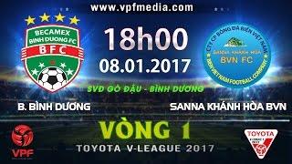 Binh Duong vs Khanh Hoa Nha Trang full match