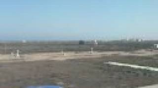 Landing at Larnaca Airport