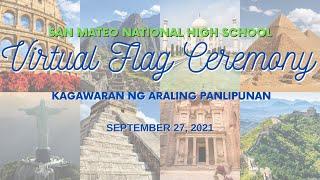 Birtuwal na Pagpupugay sa Watawat ng Pilipinas   Setyembre 27, 2021