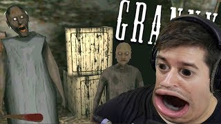 NAPALA ME BAKA I NJEZIN DECKO!!! Granny Chapter 2 (SAM SEBE PLASIM)