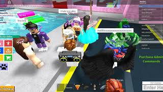 ROBLOX BOYS AND GIRLS CLUB FUNNY MOMENTS