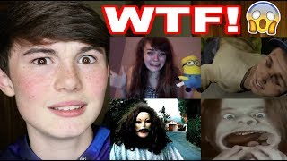 Reacting to WEIRD videos YOU GUYS suggested to me... *SCARY*