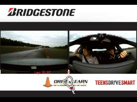 Bridgestone Tire test by Michel Levesque - Run 2